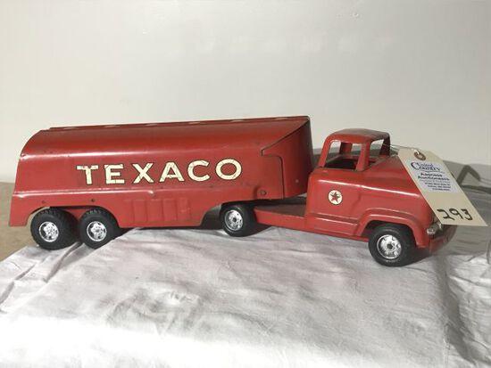 Vintage Buddy L Texaco Oil Truck