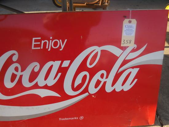 Classic Coca-Cola Sign