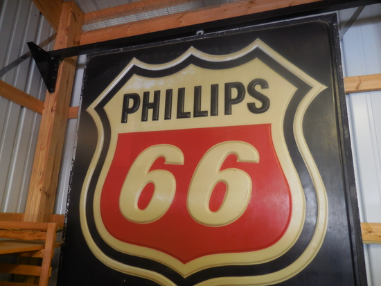 Classic Phillips 66 Lighted Sign