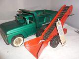 Structo Dump Truck & Tonka and Loader