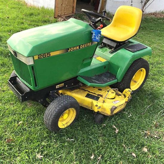 John Deere 265 Mower