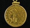 1914-D $2 1/2 Gold Indian Head Quarter Eagle