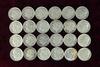 24 various dates/mints Roosevelt Silver Dimes