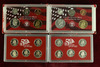 2 U.S. Mint Silver Proof Set; 2000 & 2001