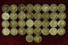 34 Mercury Silver Dimes, various dates/mints