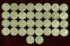 34 Roosevelt Silver Dimes, various dates/mints