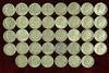 38 Roosevelt Silver Dimes, various dates/mints