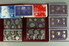 3 U.S. Mint Proof Sets (1990,1991,1992), 1999 U.S. Unc. Mint Set P/D & 1999 Proof Quarters