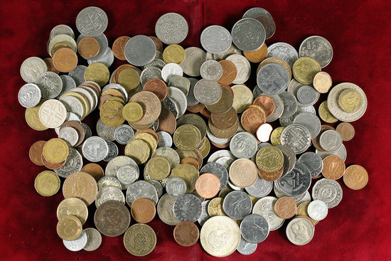 Large Bag of Foreign Coins (Bag C)