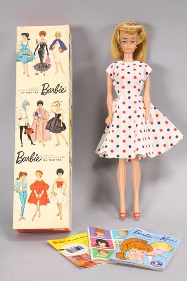 "Vintage Barbie ""Teenage Fashion Model"" Doll in Box, Ca. 1962"