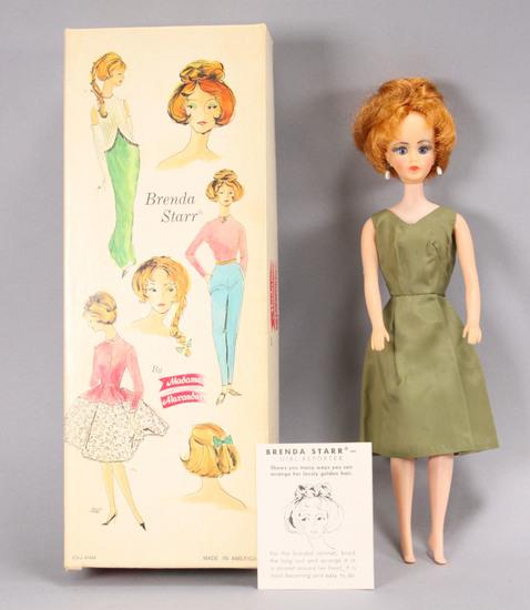 "Brenda Starr ""Girl Reporter""  by Madame Alexander, Doll w/ Box"