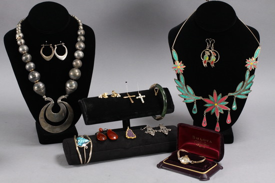 Vintage Costume Jewelry, Ladies Watch