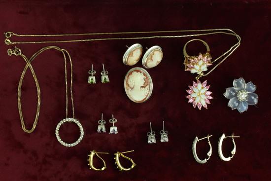 Cameos, Costume Jewelry