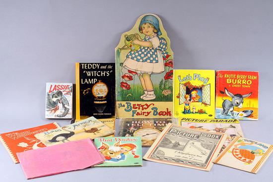 Old Children's Books: Betty Fairy Book, Birds, Woody Woodpecker & More