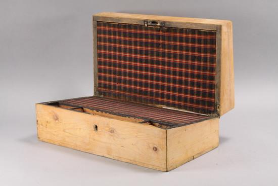 Primitive Antique Travel Desk, Ca. 1880