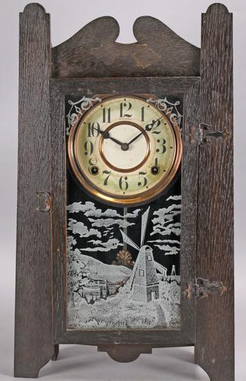 Sessions Dutch Themed Shelf Clock