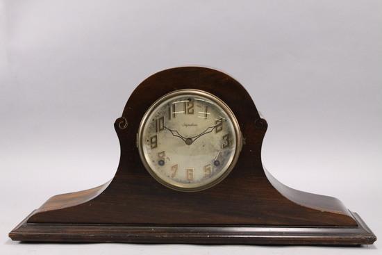 Ingraham Cosmo Duplex Mantle Clock