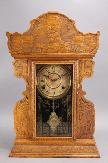 """Welch """"Admiral Dewey"""" Commemorative Shelf - Kitchen Clock"""