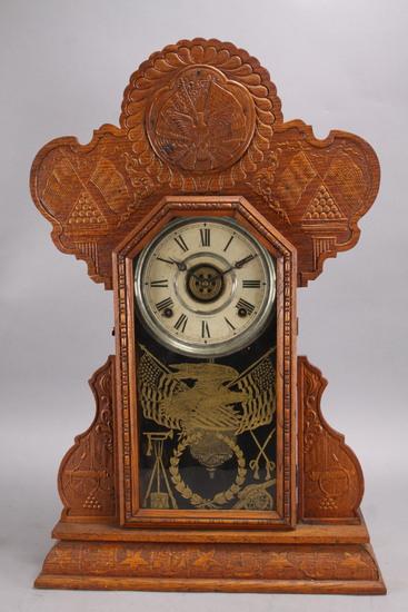 "Eureka - Ingraham ""Maine"" Period Shelf Clock"