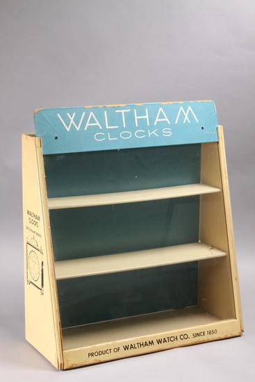 Vintage Waltham Counter Top Display