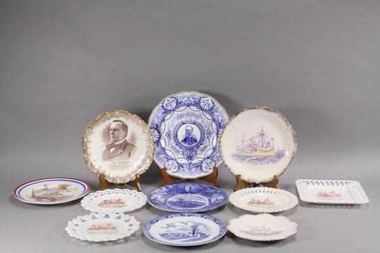 Commemorative Plates - Spanish American War