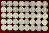 40 Washington Silver Quarters; various dates/mints
