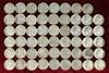 53 Roosevelt Silver Dimes; various dates/mints