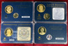 4 American Mint Presidential Gold Plated Coin Sets