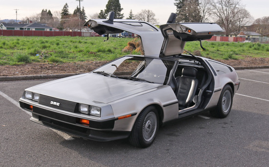 DeLorean Auto, Harley Motorcycle, Coins, Jewelry