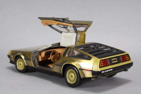 Charity Item: 1981 DeLorean DieCast Car - 1/18 Scale