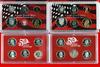 2 US Mint Silver Proof Sets; 2000,2004
