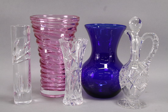 Crystal Decanter, Vases & More