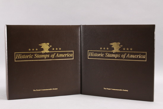 Historic Stamps of America  Books