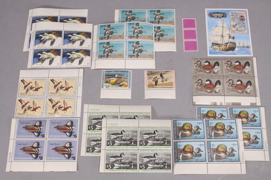 Migratory Bird Stamps & Bahamas Pirates