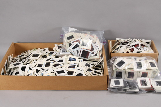 Large Assortment of 35mm Slides