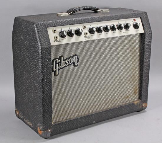 """Gibson """"Minuteman"""" GA-20 RVT Tube Amp, Ca. 1960's"""