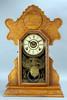 "E. Ingraham Kitchen - Shelf  ""Peace Dove"" Clock, Ca. 1900"