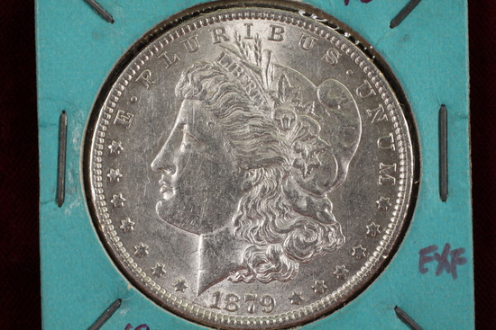 1879-P Morgan Silver Dollar