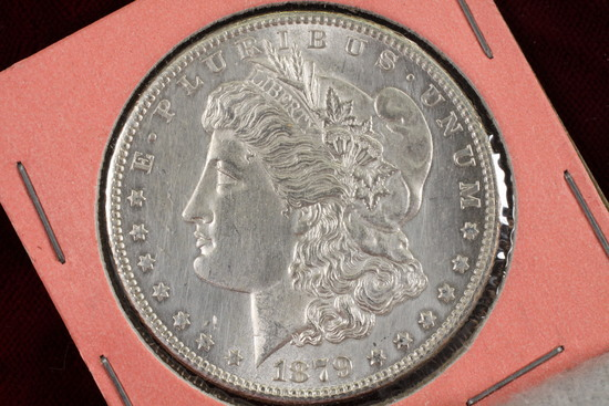 1879-S Morgan Silver Dollar