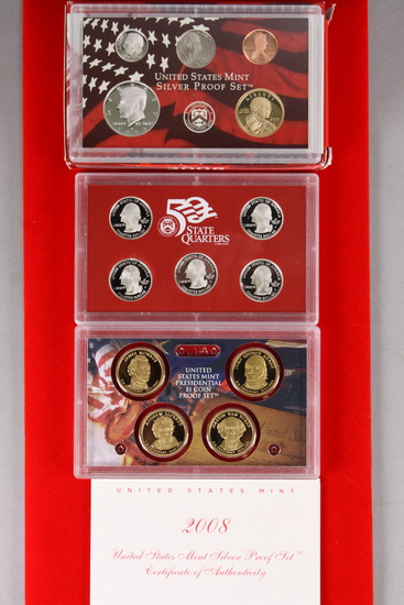 2008 U.S. Silver Proof Set