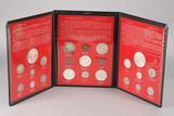 20th Century U.S. Type Coin Set in Display Album