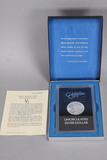 1881-CC Uncirculated Morgan Silver Dollar, GSA Hoard w/Box & Card