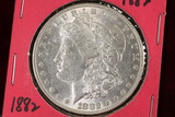 1882-P Morgan Silver Dollar