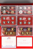 2 U.S. Mint Silver Proof Sets; 2007,2008