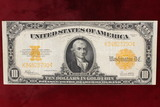 Series of 1922 $10 Gold Coin Certificate Note; Large Size