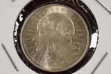 1933 Poland 5 Zlotych Silver Coin