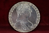 1780 M Theresia D G Burg Co TYR Silver Coin