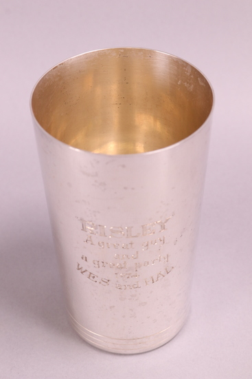Tiffany & Co. Sterling Silver Cup, 241 Grams