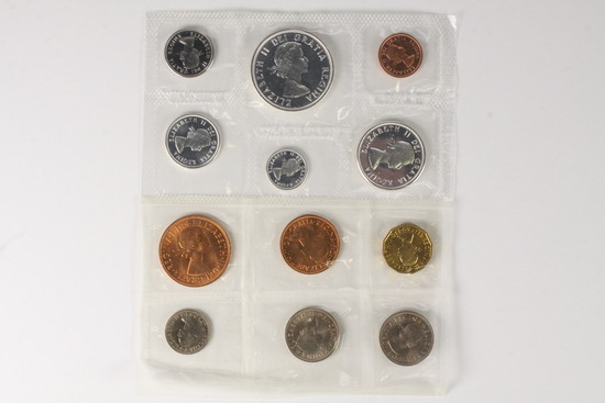 1964 & 1965 Royal Canadian Mint Uncirculated Sets
