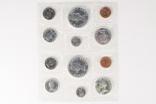 2 - 1964 Royal Canadian Mint Proof-liked Uncirculated Sets
